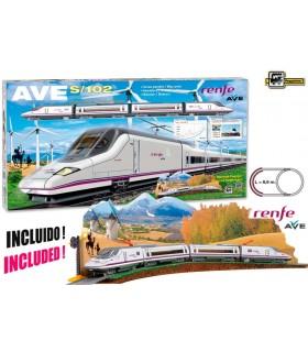 Tren Eléctrico Ave S102 710 RENFE PEQUETREN