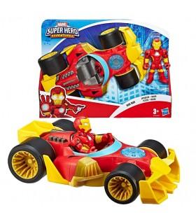 Figura y Vehiculo Super Hero E6223 MARVEL HASBRO
