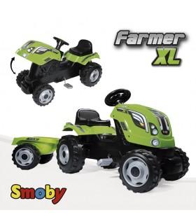 Tractor con remolque 710111 SMOBY