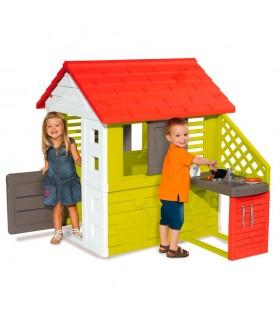 Casa nature con cocina 810713 SMOBY