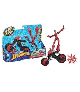 Vehículo con figura Bend and Flex F0236 SPIDERMAN HASBRO