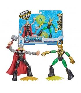 Figuras Thor vs Loki Avengers F0245 AVENGERS HASBRO