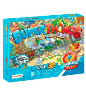 Puzzle 3D Kaboom City Superthings 15013 SUPERTHINGS ELEVEN FORCE