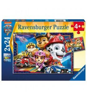 Puzzle 2X24 piezas Paw Patrol 05154 PAW PATROL RAVENSBURGUER