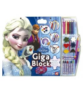 Gigablock Frozen 5 en 1 21803 FROZEN CEFA