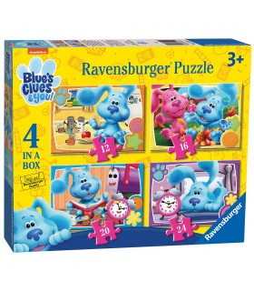 Puzzle 4 in a box Blue´s clues&you 03129 RAVENSBURGUER