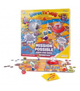 Juego Mission Possible 21655 SUPERTHINGS CEFA