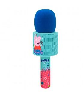Micrófono bluetooth con melodias 2317 PEPPA PIG REIG