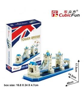 Puzzle 3d - Tower Bridge 771C238 CUBIC FUN