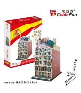 Puzzle 3d - Casa Batlló 771C240 CUBIC FUN