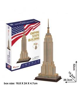 Puzzle 3d - Empire State Building 771C246 CUBIC FUN