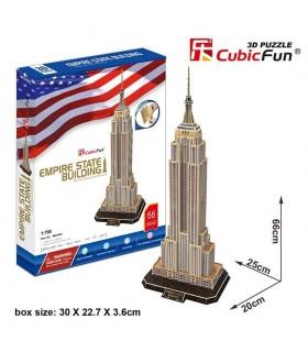 Puzzle 3d - Empire State Building 771MC048 CUBIC FUN
