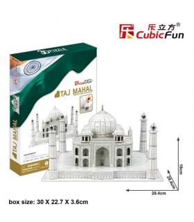 Puzzle 3d - Taj Mahal 771MC081 CUBIC FUN