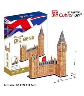 Puzzle 3d - Big Ben 771MC087 CUBIC FUN