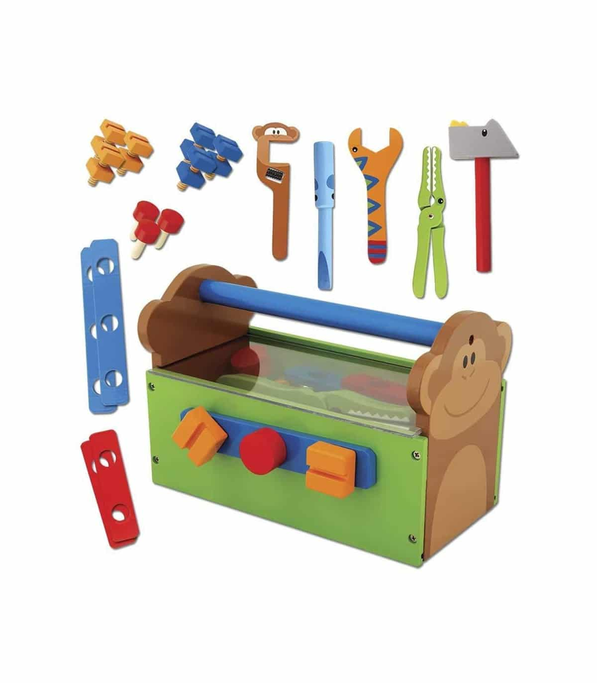 Caja de herramientas madera 5231063 | FERAN | Juguetes