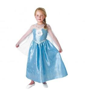 Disfraz Elsa Deluxe Talla M 889544M FROZEN RUBIES