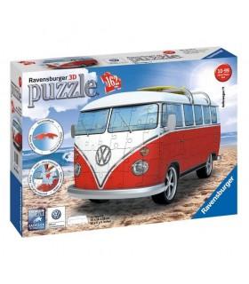 Regalos Para Nina Comunion 2020.Puzzle 3d Furgoneta Volkswagen 63812516 Volkswagen Ravensburger