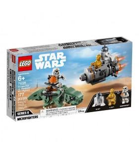 Microfighter cápsula de escape vs Dewback 75228 STAR WARS LEGO