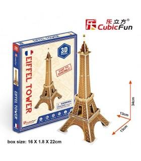 Cubic Fun Puzzle 3D Torre Eiffel de París S3006h CUBIC FUN