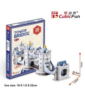 Cubic Fun Puzzle 3D del Tower Bridge en Londres S3010h CUBIC FUN
