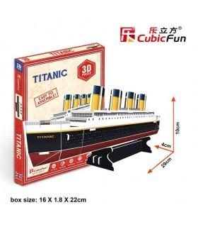 Cubic Fun Puzzle 3D del Titanic S3017h CUBIC FUN