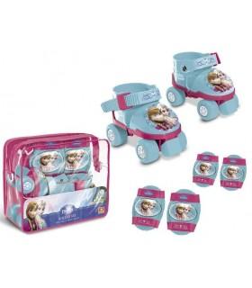 Set Patines + protecciones Frozen 28298 FROZEN MONDO