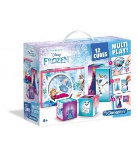 Maletin 12 cubos Frozen 41503 FROZEN CLEMENTONI