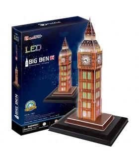 Puzzle 3d - big ben led 771L501 CUBIC FUN