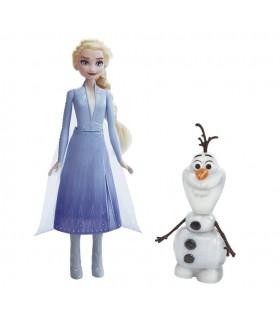 Muñeca Olaf&Elsa E5508 FROZEN FROZEN
