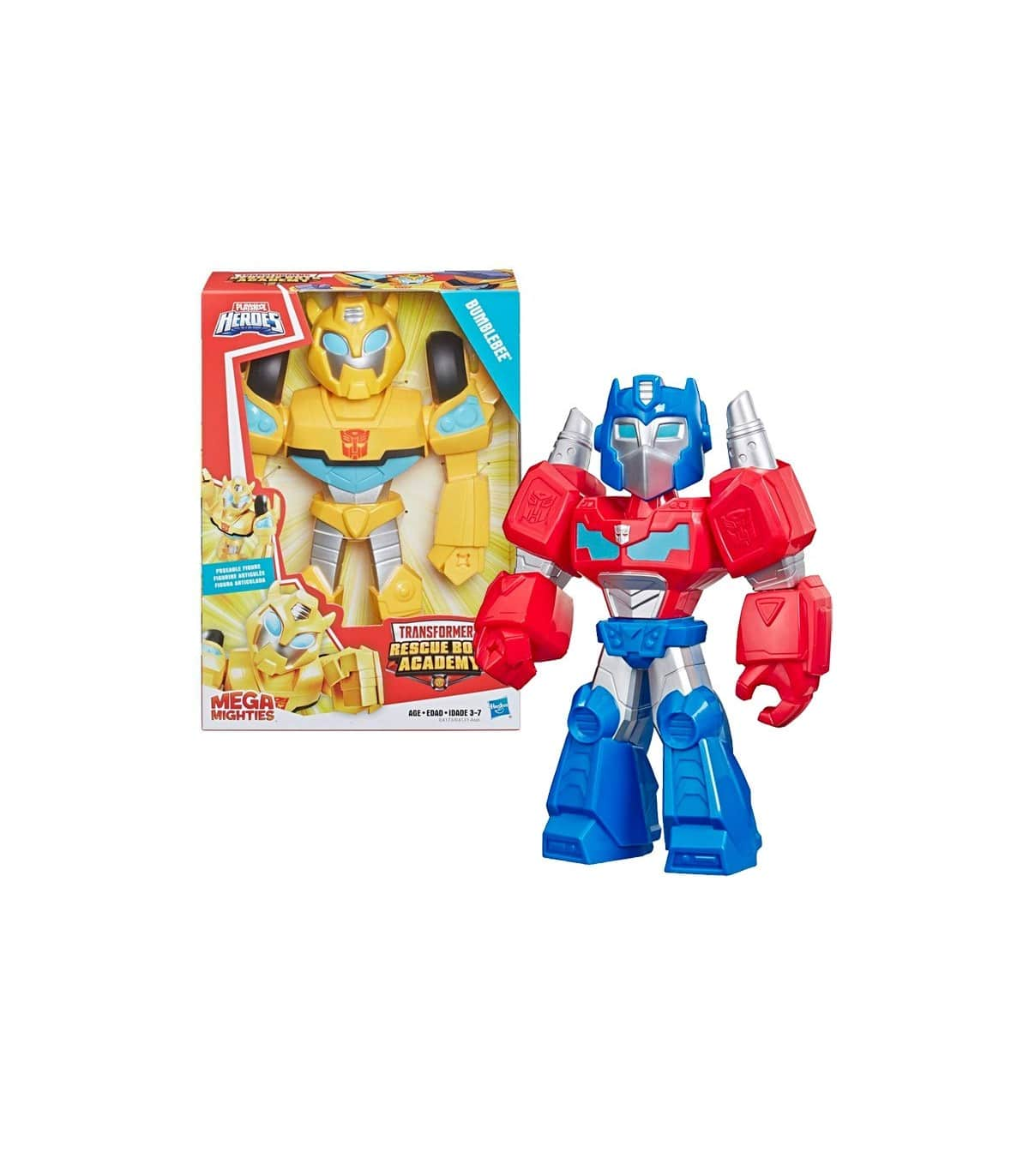 Figura Mega Mighties Playskool E4131 Transformers Juguetes