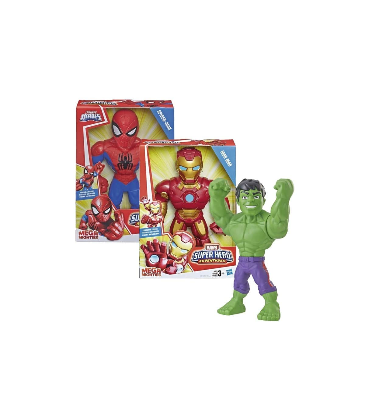 Figura Mega Mighties Super Heroe E4132 Avengers Hasbro