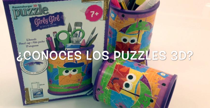 Actividades para niños. Abracadabra Puzzle 3D