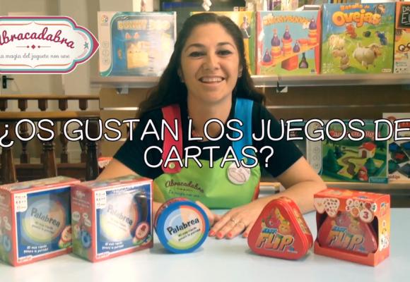 Actividad para niños en Abracadabra. Juegos de Cartas