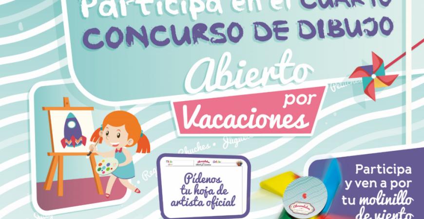 Actividades para niños Abracadabra. IV Concurso de Dibujo.
