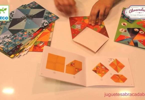 Actividades para niños y niñas Abracadabra 2018 | Origami con Djeco