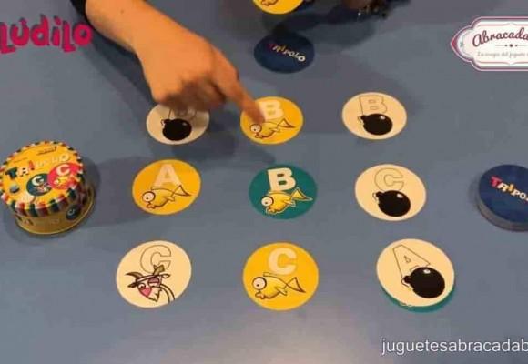 Actividades para niños y niñas Abracadabra 2018 | Juego de cartas Tripolo y Palabrea