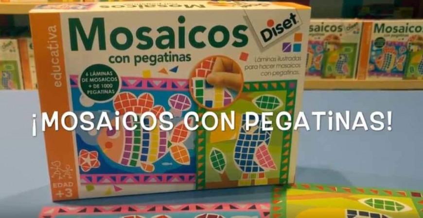 Actividades para niños y niñas Abracadabra 2018 | Mosaico con pegatinas