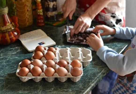 Recetas para hacer con los niños en casa